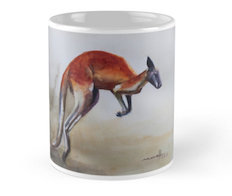 Red Kangaroo Mug